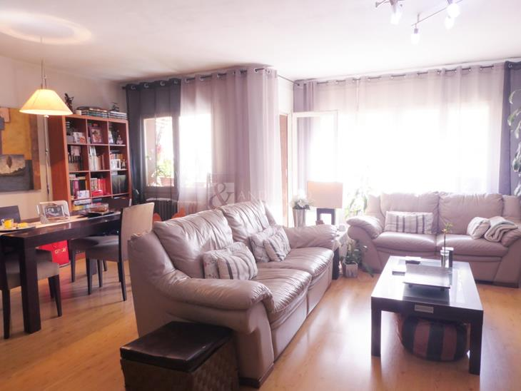Sunny apartment with 3 bedrooms and 15 m2 terrace in Encamp