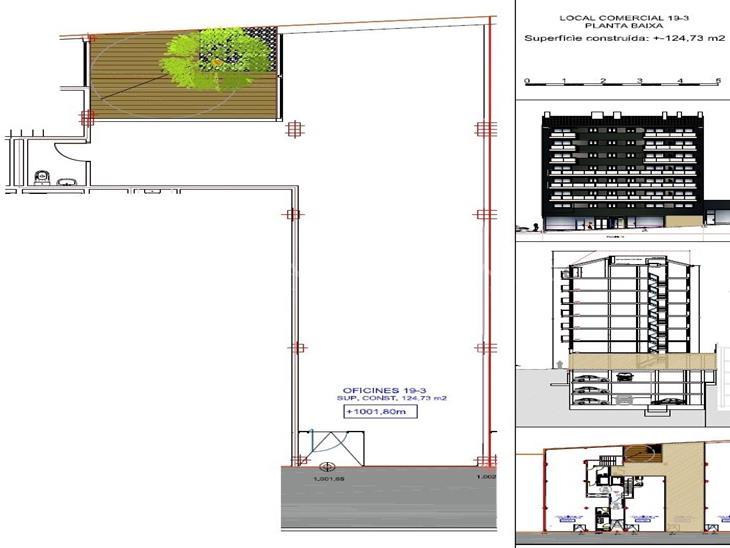 Office for SALE in Andorra la Vella: 124.73 m² - 495000.00