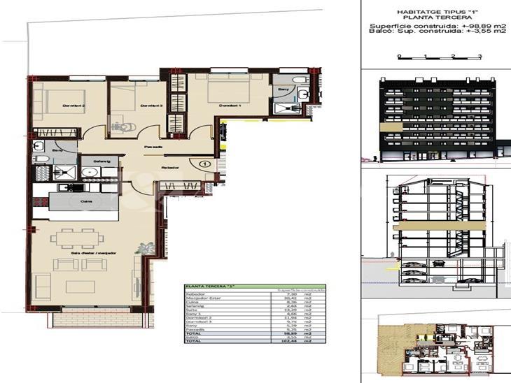 Flat for SALE in Andorra la Vella: 102.44 m² - 390000.00