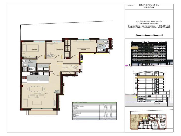 Pis en VENDA a Andorra la Vella: 102,44 m² - 455000,00