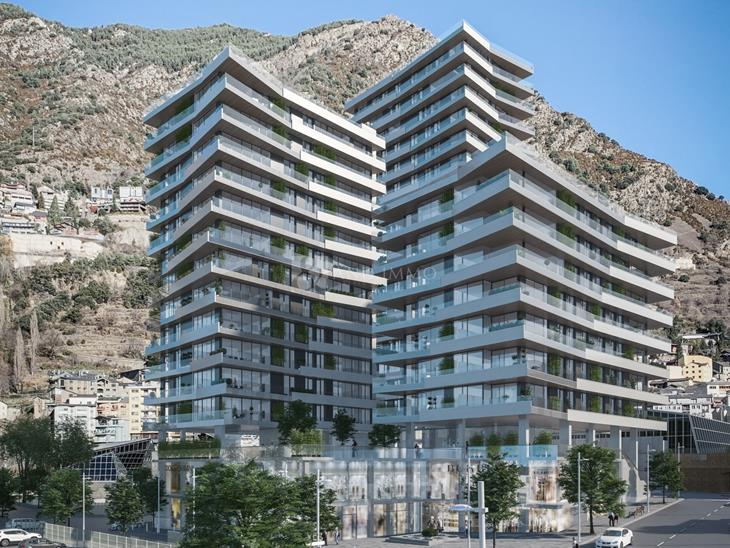 Flat for SALE in Escaldes-Engordany: 123.02 m² - 555000.00
