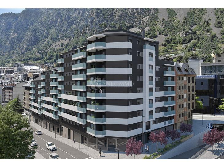Flat for SALE in Andorra la Vella: 117.75 m² - 525000.00